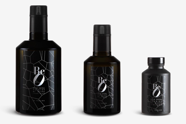 bottiglie olio evo beo by tholos sicilia valle alcantara